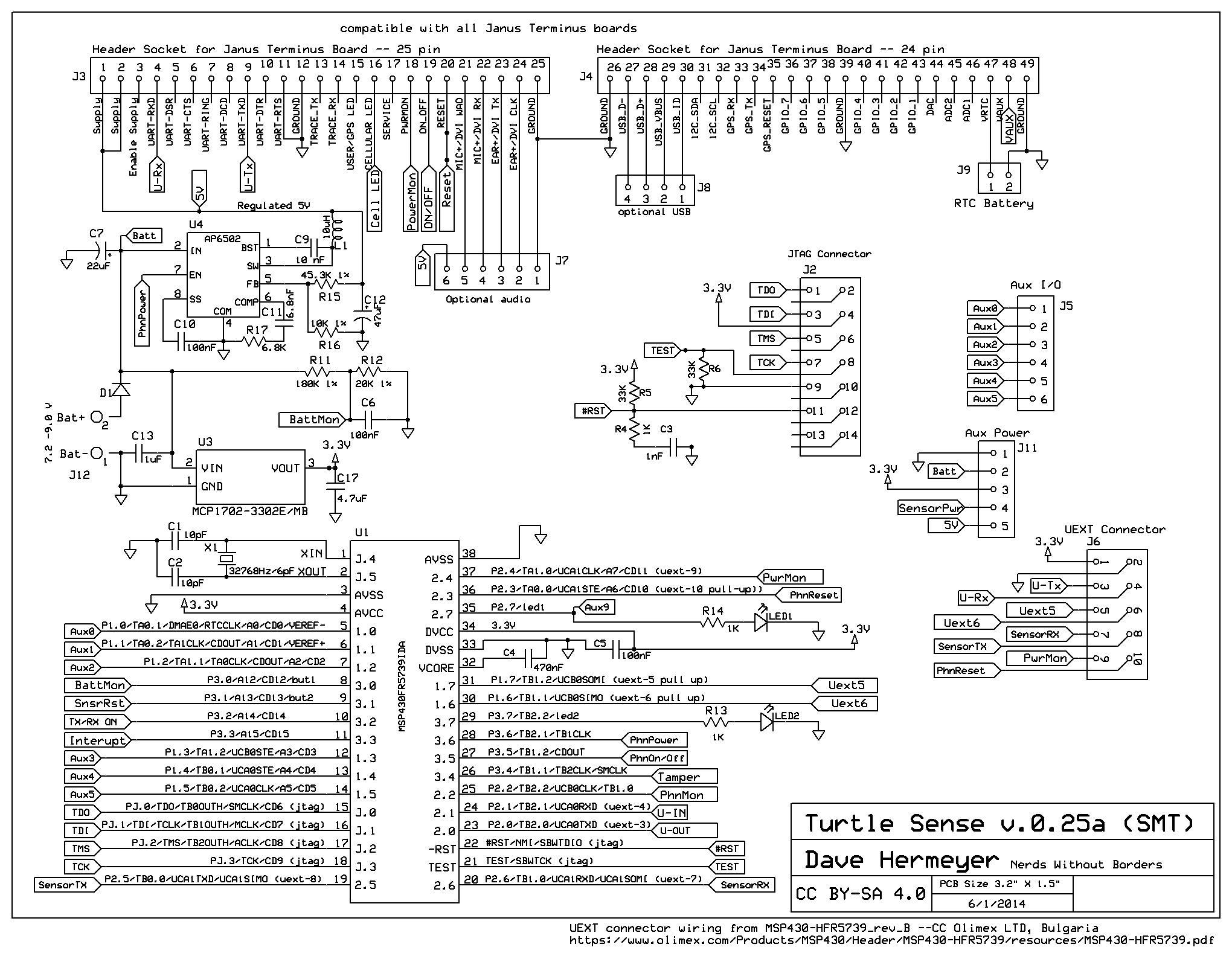 File:Turtle Sense Comm PCB schematic v0 25a pg1 jpg - Nerds